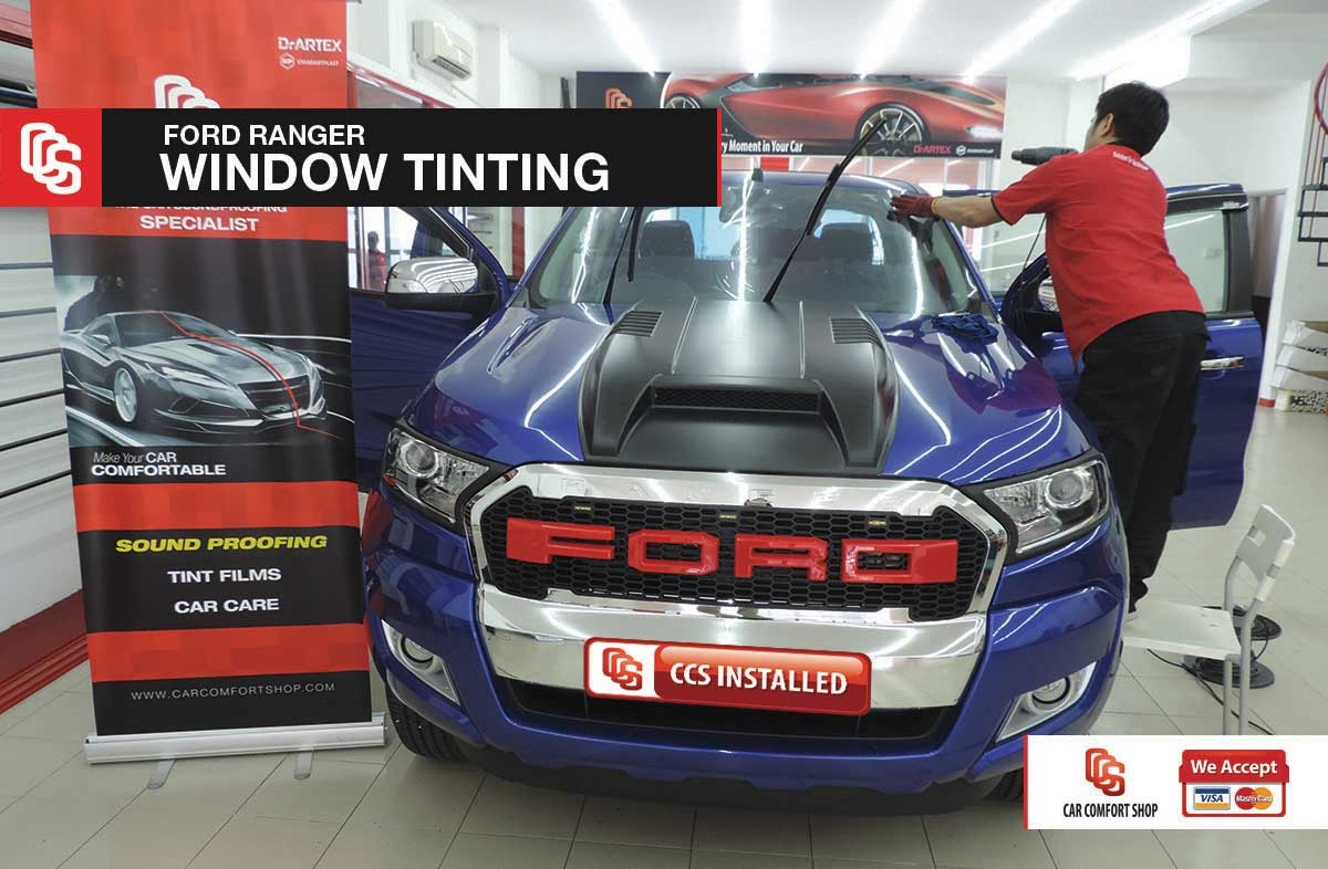 Ford Ranger Window Tinting 1
