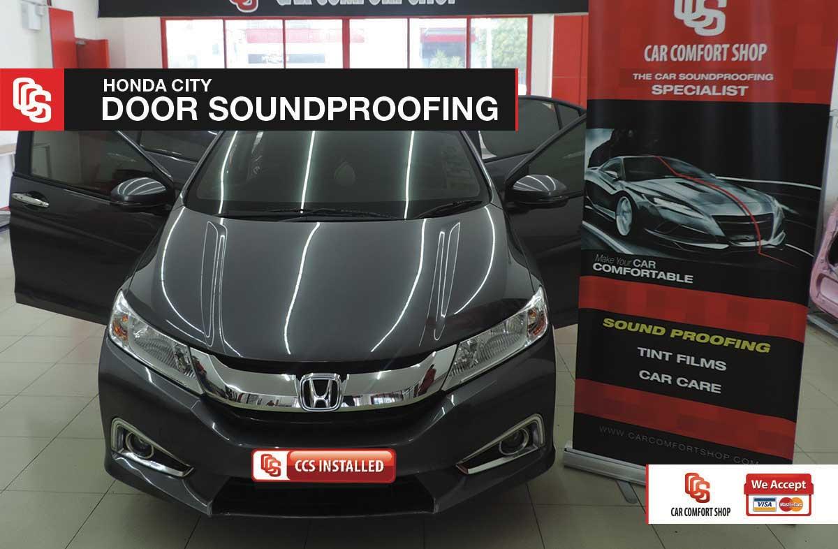 Honda City Door Soundprofing 1