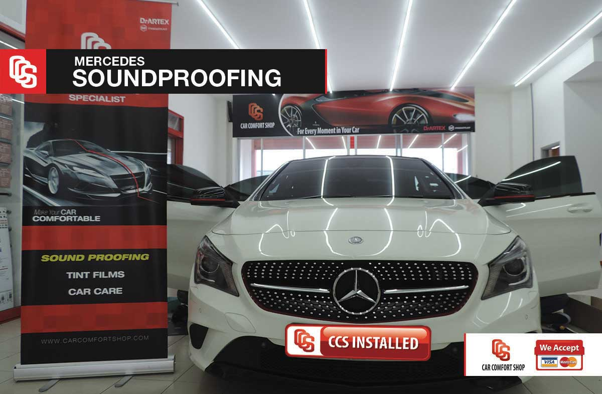 Mercedes Soundproofing