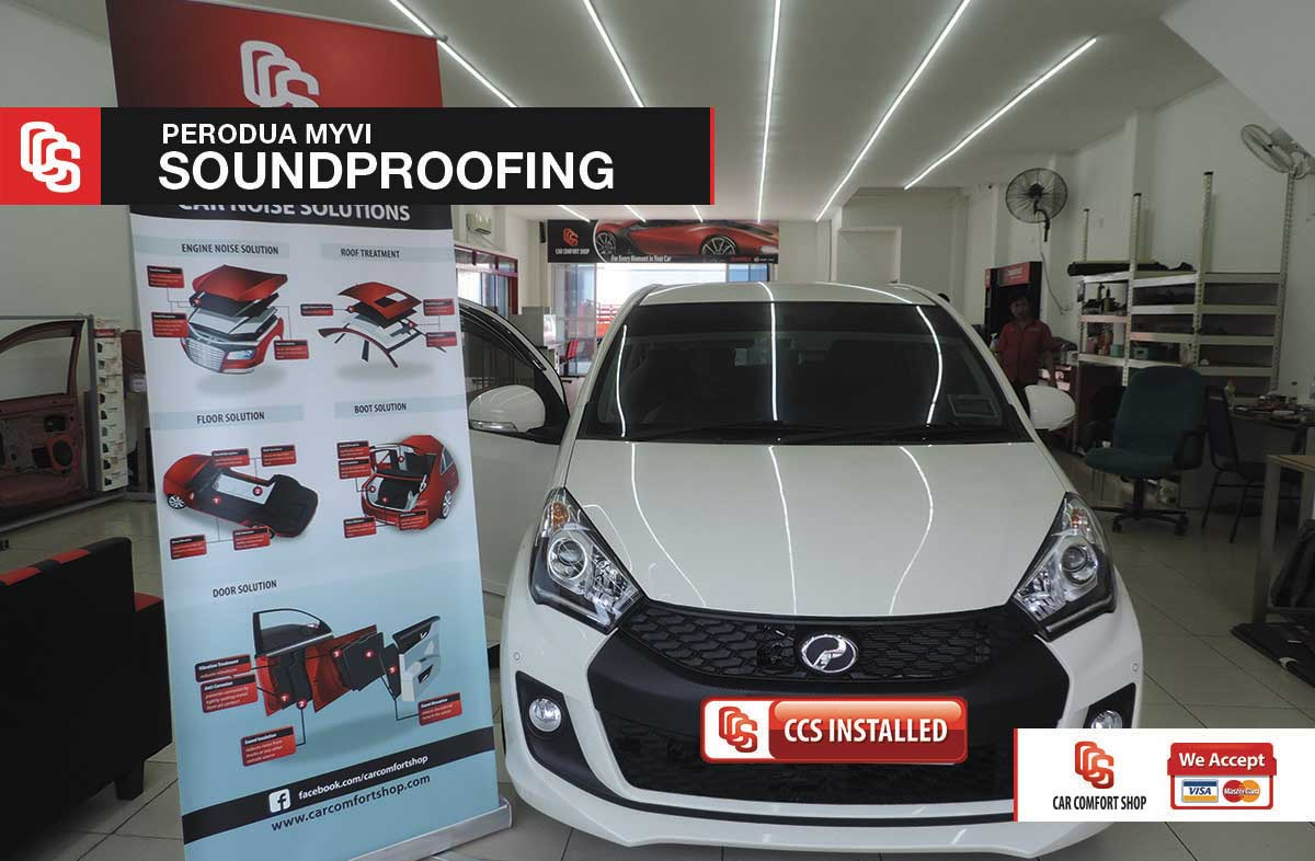 Myvi Soundproofing
