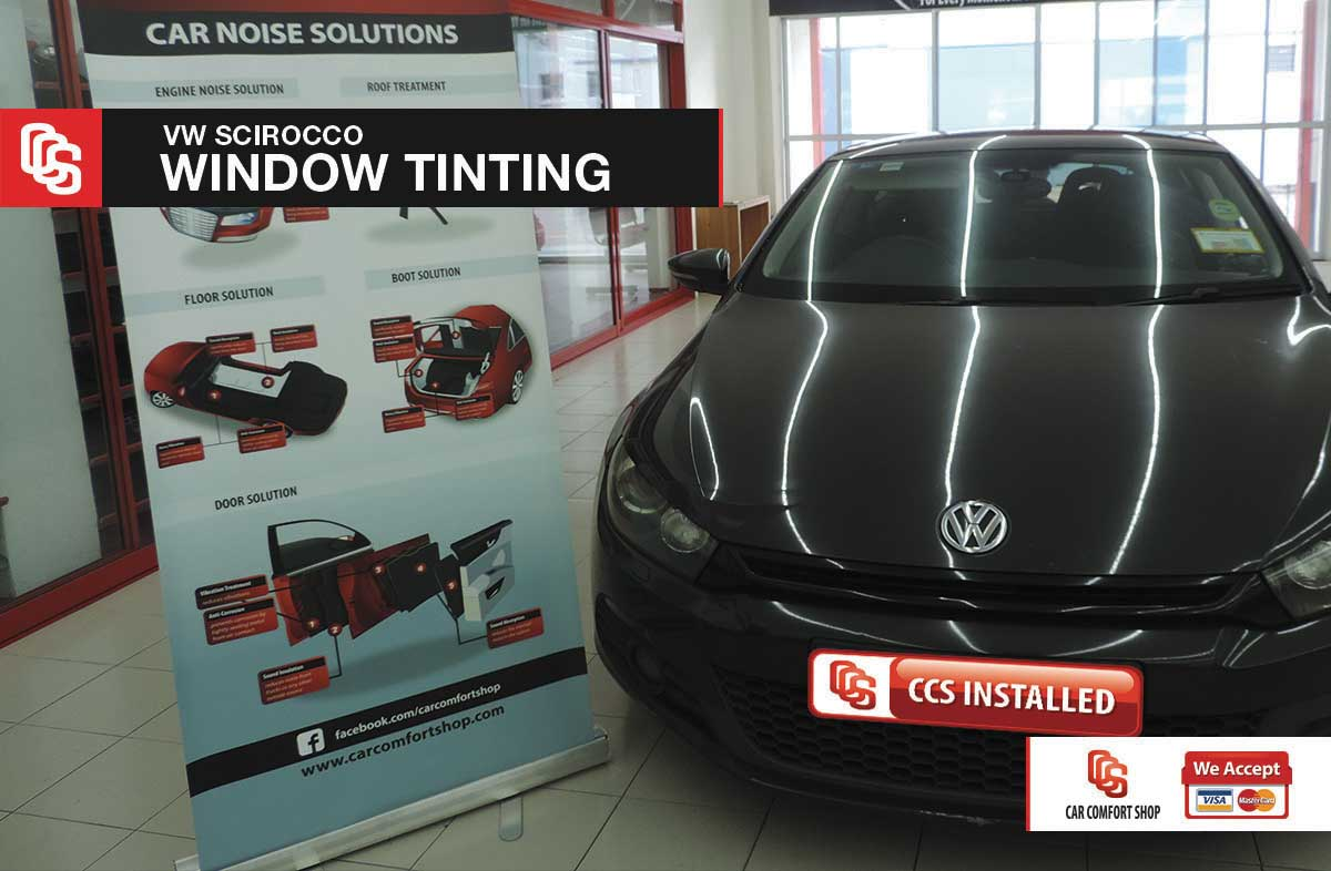 VW Scirocco Window Tinting 1
