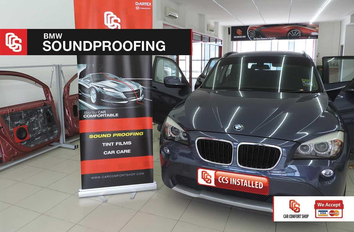 BMW Soundprofing