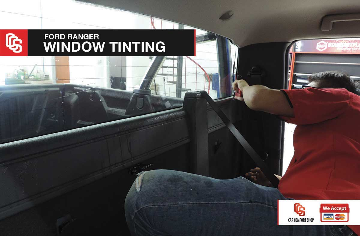 Ford Ranger Window Tinting 2