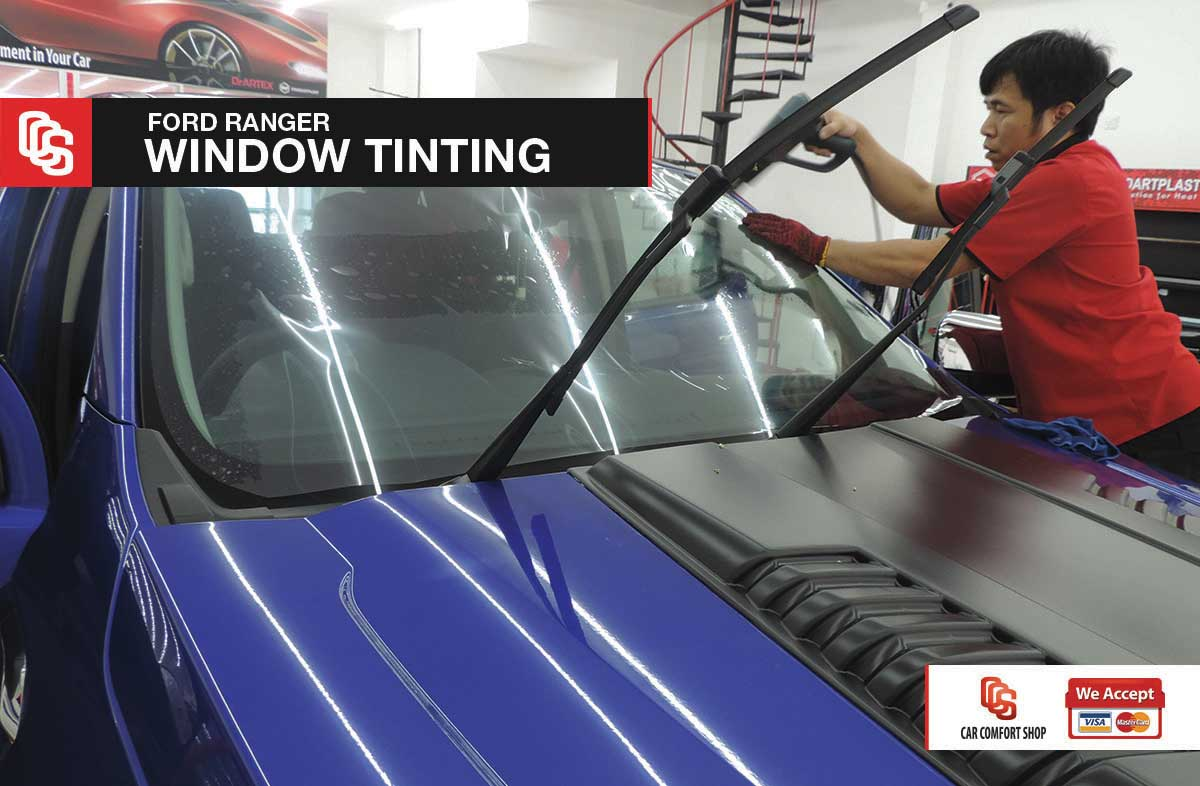 Ford Ranger Window Tinting 3