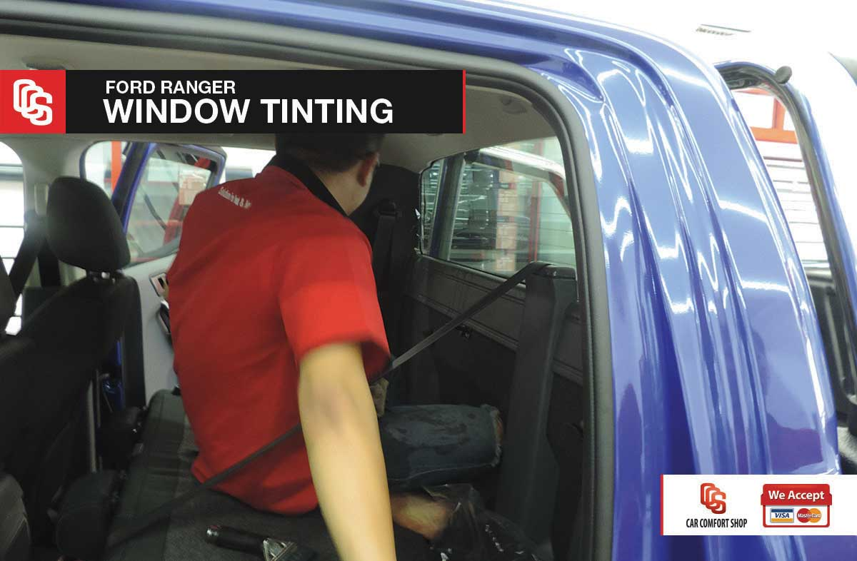 Ford Ranger Window Tinting 4
